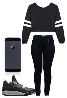 """""""spring"""" by neca-xoxo ❤ liked on Polyvore featuring Armani Jeans and NIKE"""