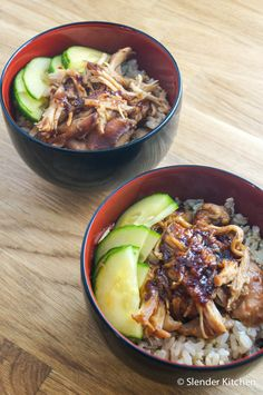 Slow Cooker Sweet and Spicy Chicken - Slender Kitchen. Works for Gluten Free and Weight Watchers® diets. 249 Calories.
