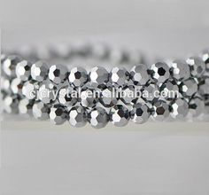 Round faceted glass beads wholesale  Size: 3mm, 4mm, 6mm, 8mm, 10mm, 12mm, 14mm, 16mm  More details just contact Sara by E-mail: cjcrystal04@cjcrystal.cn or Whats App: 0086 13757914720.