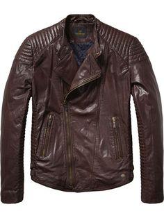 Leather Biker Jacket S S Tenues Haute Couture, Soda De Scotch, Vêtements De  Dessus Pour 8ba9cf9a8bc9