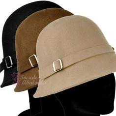 ¡Vuelta a los años 20 con nuestros sombreros Cloché! #sombreros