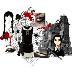 Little wednesday by alleygrl on Polyvore
