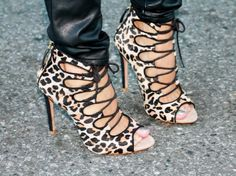 Leopard on my feet! #shoes #heels #prostishoes