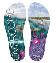 Outsole for Bethany's Signature Sandals   #bethanyhamilton #flipflop