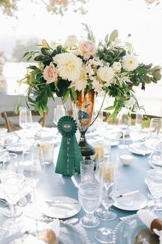 Equestrian theme wedding in Pantone colour of the year, Serenity