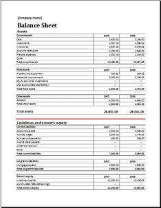 Assets and Liabilities report balance sheet DOWNLOAD at http://www.xltemplates.org/asset-and-liability-report-balance-sheet/