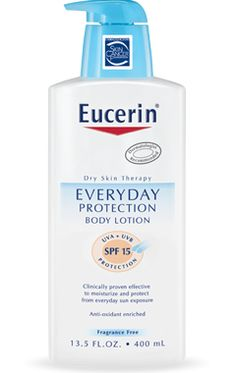 Lotion & sunscreen - together in one!