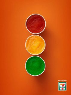 Clever 7-Eleven Ads Show How Its Products Are Perfect For Those On-The-Go - DesignTAXI.com