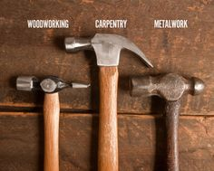 ManMade Essential Toolbox: The 3 Hammers Every Man Should Own