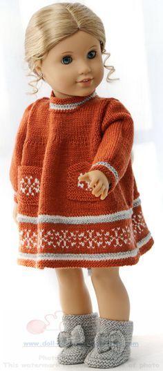 38 besten Puppenkleider Bilder auf Pinterest | Handarbeit ...