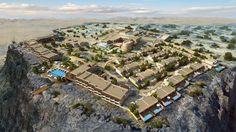 Einen guten Rückzugsort bietet das Anantara Jabal Al Akhdar Resort an einem Canyon des Hadschar-Gebi... - Anantara Hotels, Resorts & Spas