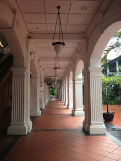 Raffles Hotel, Singapore was built during colonial days, and is a beautiful building that still stands today. The Colonizers did help build the city, and leave a legacy.