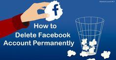 Delete Facebook, Accounting, Website