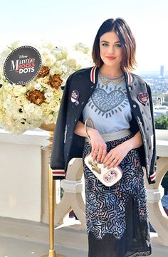 Lucy Hale & Minnie Mouse @ Lunch Celebrating Minnie's Star on the Hollywood Walk of Fame and launch of Disney X Coach Collection at Chateau Marmont in Los Angeles | January 22nd, 2018