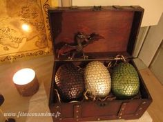 DIY tuto Les Oeufs de Dragons version Game of Thrones