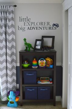 Baby Boy Nursery, Little Explorer Big Adventures, Jeep