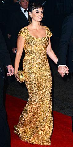 Penelope Cruz wearing a L´Wren Scott dress.