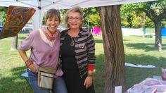 Momentos de satisfacción, disfrutamos del día y de lo que hacemos!!               lluïsa&rosó www.holoplace.net/info