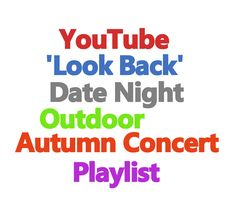 Wedding Blog: Autumn Bride Date Night Concert Playlist