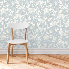 Blue Glenmara Mica Highlight Wallpaper | Departments | DIY at B&Q