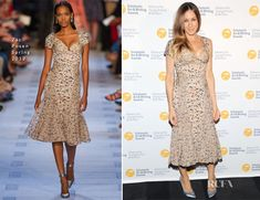 Sarah Jessica Parker In Zac Posen - 2013 Alliance for Young Artists & Writers Benefit