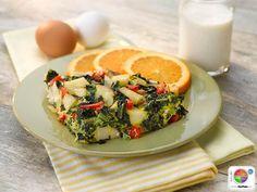 Garden Frittata #veggies #protein #MyPlate #WhatsCooking