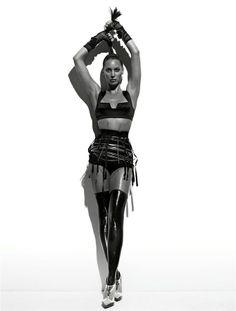 Christy Turlington by Michael Thompson - W Mag. 2008