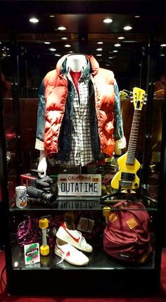 """""""Back to the Future"""" - Marty McFly film props!"""