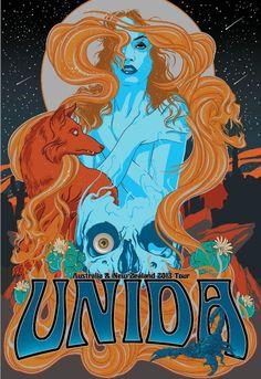 Unida (Australian & New Zealand 2013 Tour)