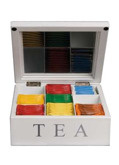 Wooden Tea Box-found a box, so will decorate to turn into tea box