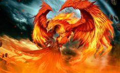 Fire Phoenix - Adelajde Prime Concept Art