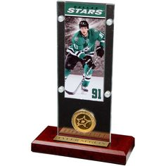 "Tyler Seguin Dallas Stars Highland Mint 3.5"" x 9"" Player Bronze Coin Acrylic - $39.99"