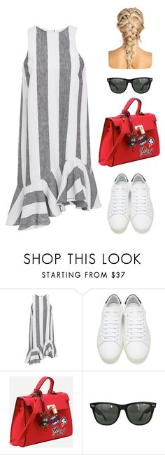 """Untitled #746"" by alwateenhosam on Polyvore featuring Paper London, Yves Saint Laurent and Ray-Ban"