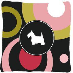 Scottish Terrier Indoor/Outdoor Throw Pillow