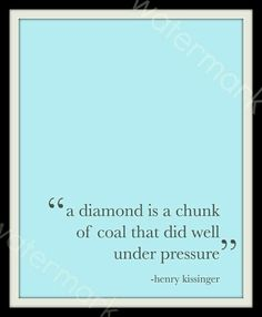 Im a diamond