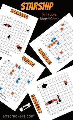 Starship Star Wars-Themed Printable Board Game - Star Wars Printables - Ideas of Star Wars Printables - This Themed Printable Board Game is totally awesome! (& free) via @ Arts & Crackers Printable Board Games, Printable Star, Party Printables, Star Wars Classroom, Star Wars Birthday, Birthday Board, Birthday Cakes, Diy Birthday, Math Night