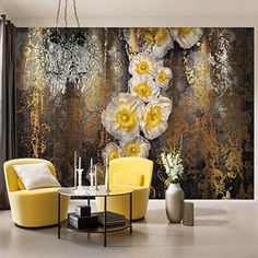 Brewster Home Fashions Komar Serafina Wall Mural 3d Wallpaper For Walls, Wallpaper Panels, Wallpaper Designs, Paper Wallpaper, Photo Wallpaper, Interior Walls, Interior Design, Tile Panels, Wall Treatments