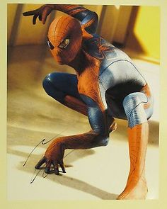 Andrew Garfield Autographed Signed 11X14 Photo COA 'Spiderman'