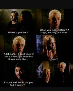 Guess when from the look Buffy and Spike exchange... :)