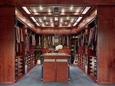 Image result for men walk in closet