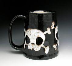 Monstrously Huge Skull Beer Tankard by nicolepangas on Etsy
