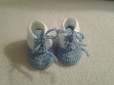 crochet baby boy high top sneakers booties 36 by crochetfifi Crochet Baby Boots, Baby Month By Month, Crocheting, High Top Sneakers, Baby Shoes, Baby Boy, Booty, Trending Outfits, Unique Jewelry