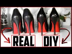 angelus walk on red repair red bottom shoes Red Bottom Boots, Cheap Red Bottom Heels, Diy Fashion Hacks, Walking In Heels, Diy Kleidung, Shoe Crafts, Christian Louboutin Outlet, Prom Heels, Colorful Shoes