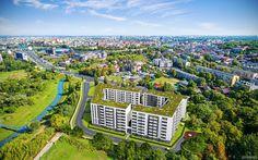 Konopnicka City Park znajduje się zaledwie 800 m od bulwarów wiślanych. Do Wawelu niewiele dalej. Warto tam zamieszkać :)