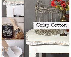No Prep Furniture Paint~Crisp Cotton