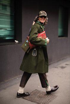 The Sartorialist / On the Street…Ana After Etro, Milan #Fashion, #FashionBlog, #FashionBlogger, #Ootd, #OutfitOfTheDay, #StreetStyle, #Style