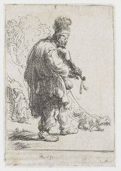 Genre barock  Beggar man and beggar woman conversing by @artrembrandt #baroque ...