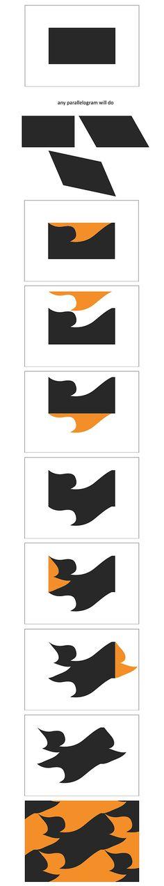 Tessellations part one: A basic interlocking tile