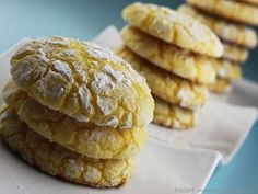 Simple Lemon Cookies... - My Baking Addiction
