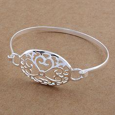 Fine silver Yotsunoha Sterling Silver Bangles